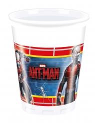 8 Copos de plástico Ant-Man™ 200 ml Homem-Formiga™