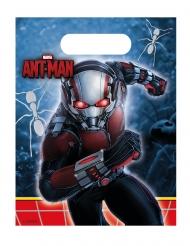 6 Sacos de festa Ant-Man™ 23 x 16.5 cm Homem-Formiga™