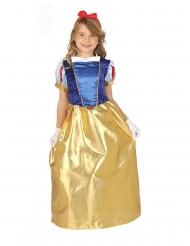 Disfarce vestido princesa da floresta menina
