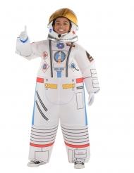 Disfarce macacão insuflável astronauta criança