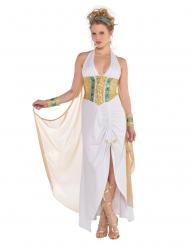 Disfarce deusa Athena mulher
