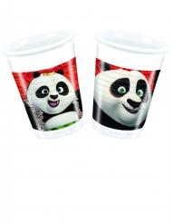 8 Copos de plástico O Panda do Kung Fu 3™