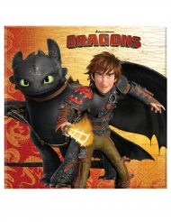 20 Guardanapos de papel - Como Treinar o seu Dragão™