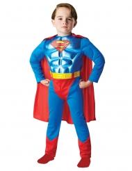 Disfarce Superman™ plastrão musculoso menino