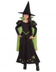 Disfarce Bruxa Má do Oeste Elphaba menina - O Mágico de Oz™