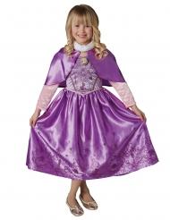 Disfarce princesa do inverno Rapunzel™ com capa menina