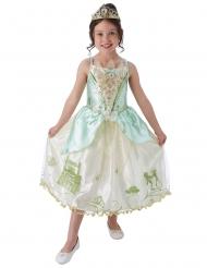 Disfarce princesa Tiana™ com coroa menina