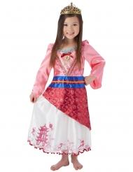 Disfarce princesa Mulan™ com coroa menina