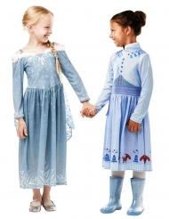 Disfarce Elsa Boas festas com o Olaf™ menina