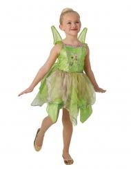 Disfarce de luxo Fada Sininho™ com asas luminosas menina