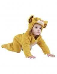 Disfarce leão peluche Simba™ bebê