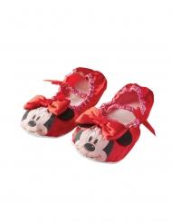 Sapatos de ballet Minnie™ vermelhos menina