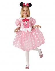 Disfarce Minnie™ cor-de-rosa vestido para menina