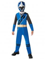 Disfarce classico Power Rangers Ninja Steel™ azul criança