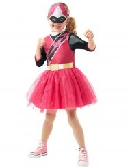 Disfarce clássico Power Rangers Ninja Steels™cor-de-rosa menina