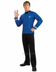 T-shirt deluxe azul Spock Star Trek™ homem