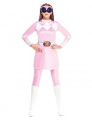 Disfarce  cor-de-rosa Power Rangers Mighty Morphin™ mulher