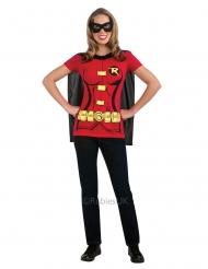 T-shirt com mascarilha Robin™ mulher