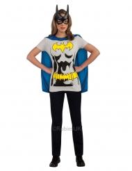 T-shirt com máscara Batgirl™ mulher