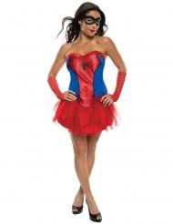 Disfarce vestido tutu Spidergirl™ mulher