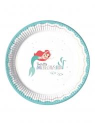 8 Pratos de cartão premium Ariel™ 23 cm