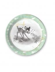 8 Pratos de cartão premium Bambi3 23 cm