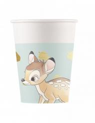8 Copos de cartão premium Bambi™ 260 ml