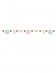 Grinalda de cartão efeito metáico premium Bambi™ 100 x 18 cm
