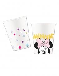 8 Copos de cartão premium Minnie™ 260ml