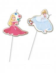 6 Palhinhas premium Princesas Disney™