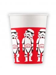 8 Copos de cartão premium Star Wars™