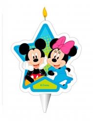 Vela de aniversário Mickey e Minnie™ 7.5 cm
