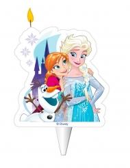 Vela de aniversário Elsa, Anna e Olaf™ Frozen™ 8 cm