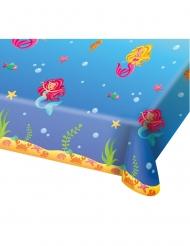 Toalha de plástico Sereia azul