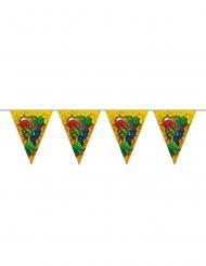 Grinalda de bandeirolas de plástico Dinossauros