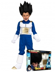 Coffret Disfarce com peruca Vegeta Dragon Ball™ criança