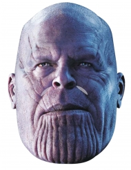 Máscara de cartão Thanos Avengers Infinity War™ adulto