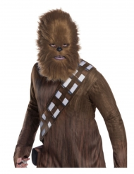 Máscara com pele Chewbacca Star Wars™ adulto