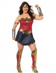 Disfarce deluxe Woman Justice League™ tamanho grande mulher