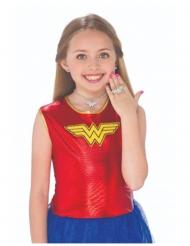 Kit brincos, colar e anel Wonder Woman™