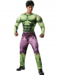 Disfarce musculoso deluxe Hulk™ adulto
