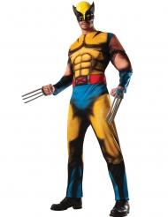 Disfarce musculoso deluxe Wolverine X-Men™ adulto