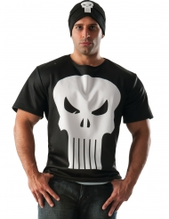 T-shirt com gorro Punisher™ adulto