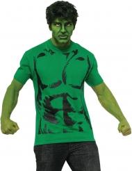 T-shirt com peruca Hulk™ adulto