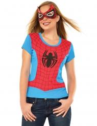 T-shirt e mascarilha Spider-girl™ mulher