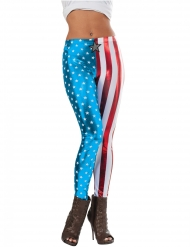 Legging metalizado Captain America™ mulher