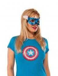 Mascarilha Captain America™ mulher