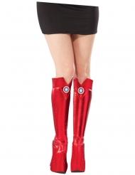 Cobre-botas Captain America™ mulher