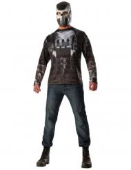 T-shirt e mascara Crossbones Capitão América Guerra Civil™ adulto