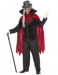 Disfarce de conde vampiro homem
